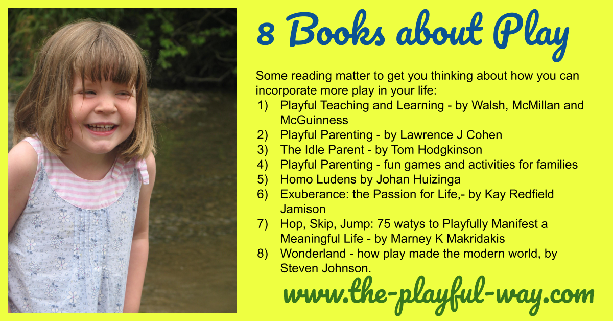 8 Books about Play